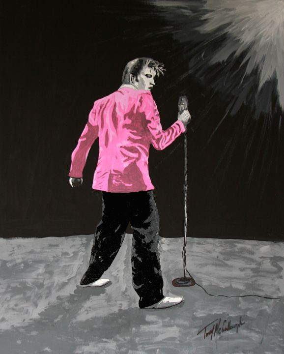 Elvis in Pink - Tony McCullough