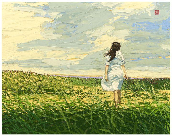 Faith 8x10 By Allan Chow - Hearts of Life