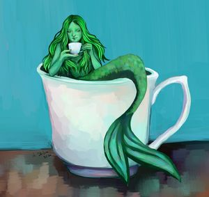 Coffee with Marmaid
