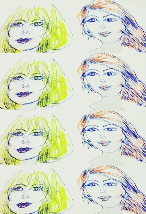 Blondie and Ginger (Large) - Susana María Rosende