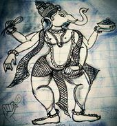 Odisha traditional pattachitra painting