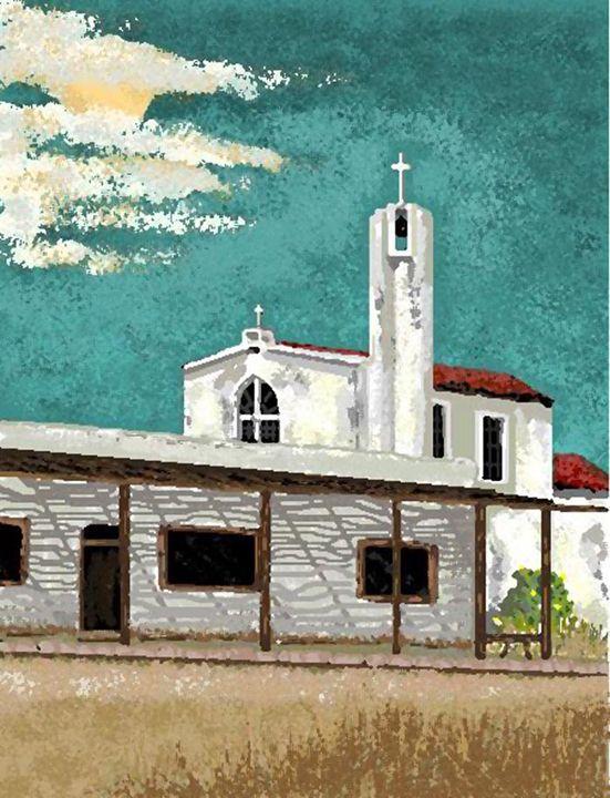 Abandoned Mission - C. K. Boyd Art