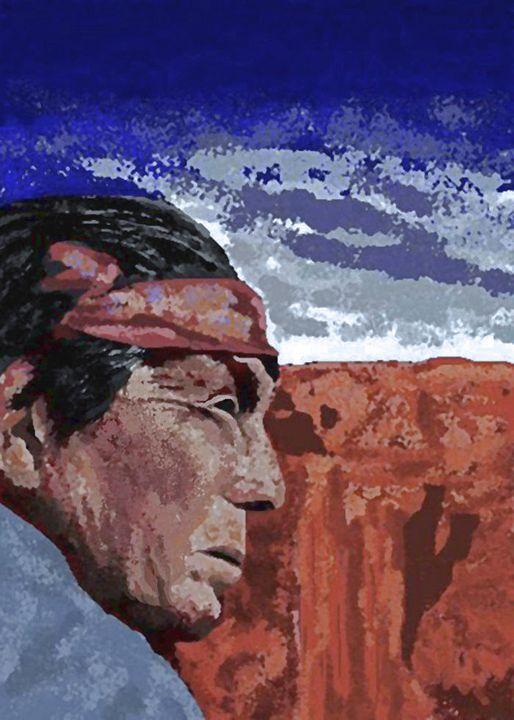 Shaman - C. K. Boyd Art