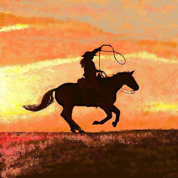 Morning Ride - C. K. Boyd Art