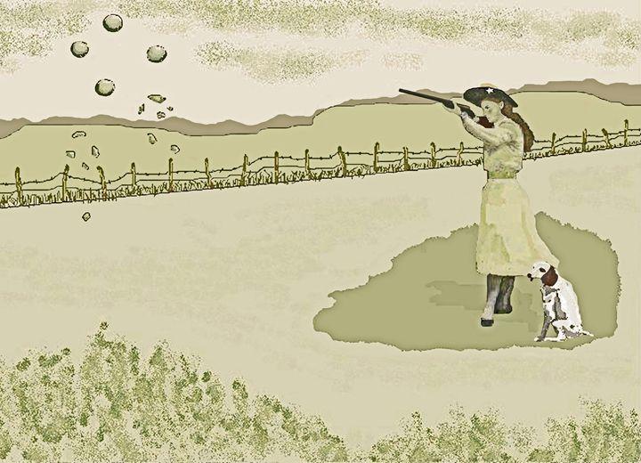 Annie Oakley - C. K. Boyd Art