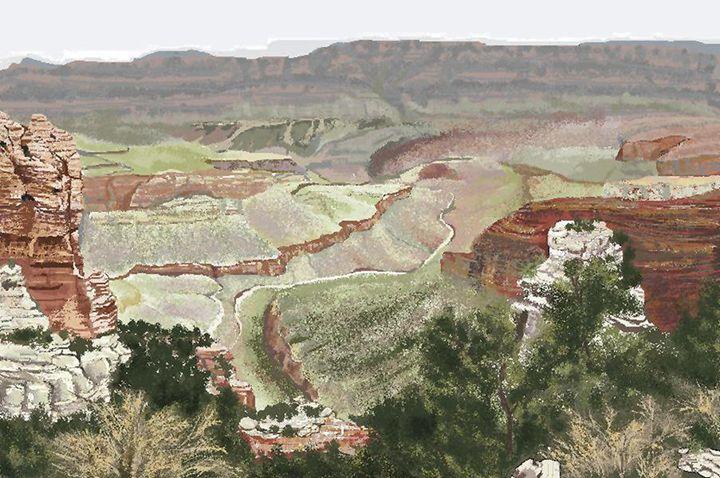 Grand Canyon - C. K. Boyd Art