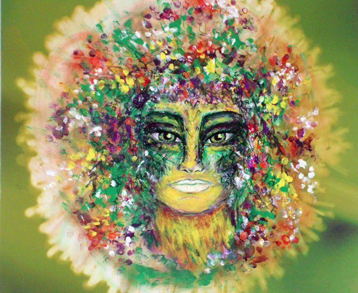Spirit of the Woods - Julianna Dumas Art