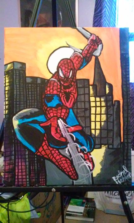 Spiderman - Wizard of Art