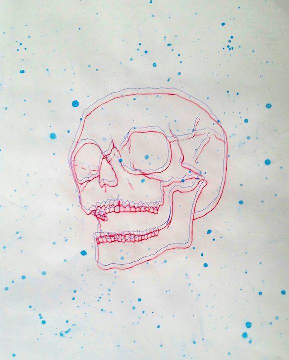 3D Skull - Cesar Munoz