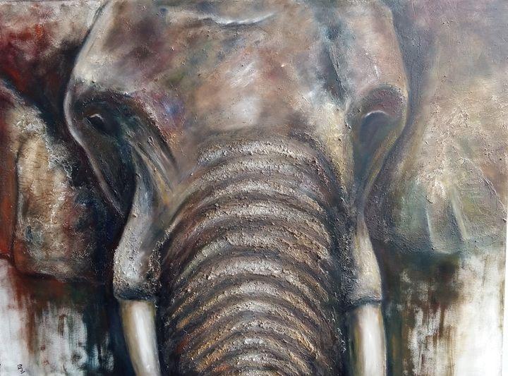 cabeza de elefante - SpainArte