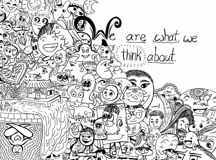 What we think - Dorema's Doodles