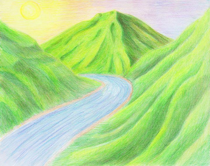 Valley River - Dorema's Doodles