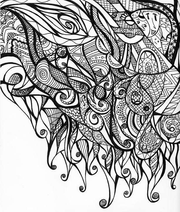 Melting - Dorema's Doodles