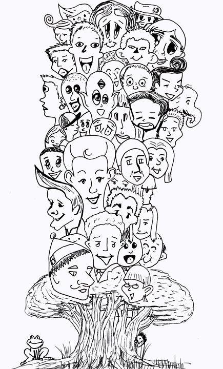 Family Tree - Dorema's Doodles