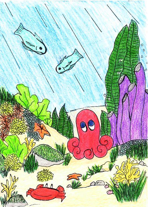 Ocean Friends - Dorema's Doodles