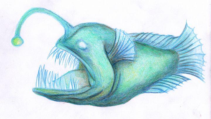 Angler Fish - Dorema's Doodles