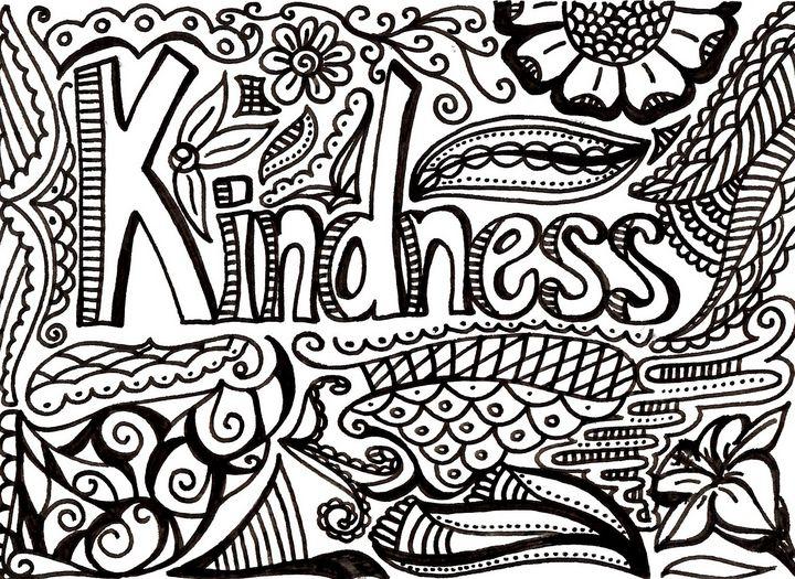 Kindness - Dorema's Doodles