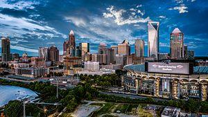 Charlotte skyline 2