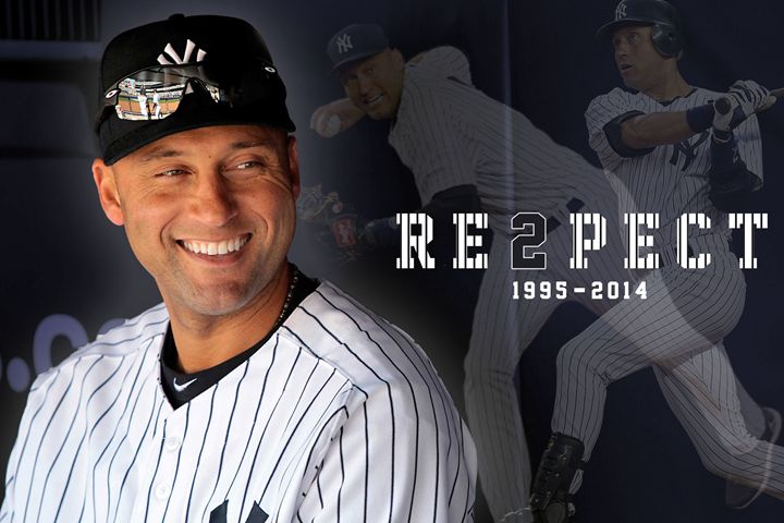 Derek Jeter RE3PECT - Brad Greathouse Design