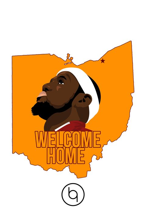 Welcome Home LeBron White - Brad Greathouse Design