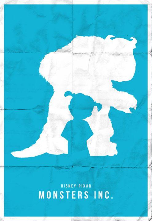 Monsters Inc. - Brad Greathouse Design