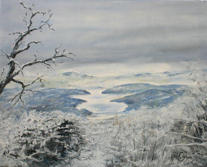 View on the lake - Van Orton Art
