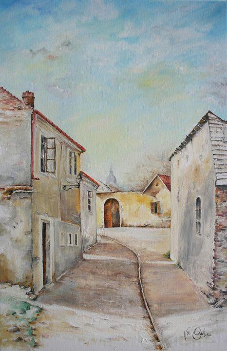 Summer street - Van Orton Art