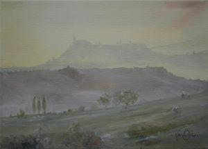Toscan dawn 1