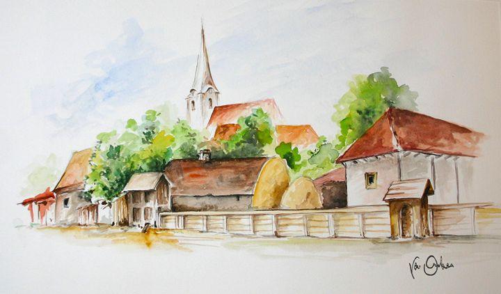 Village - Van Orton Art