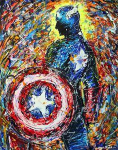 Captain America - John J. Poma Jr.