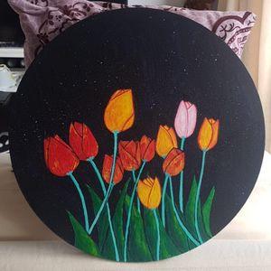 Tulips at night - MVAsketches