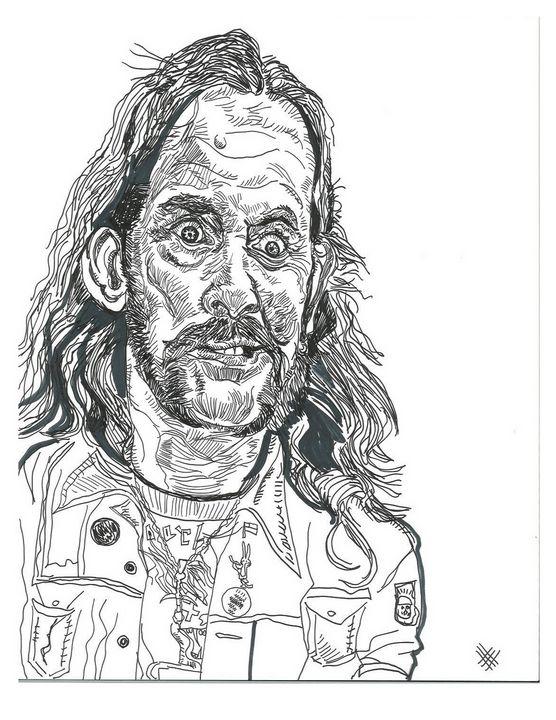 Lemmy - HellScribblins