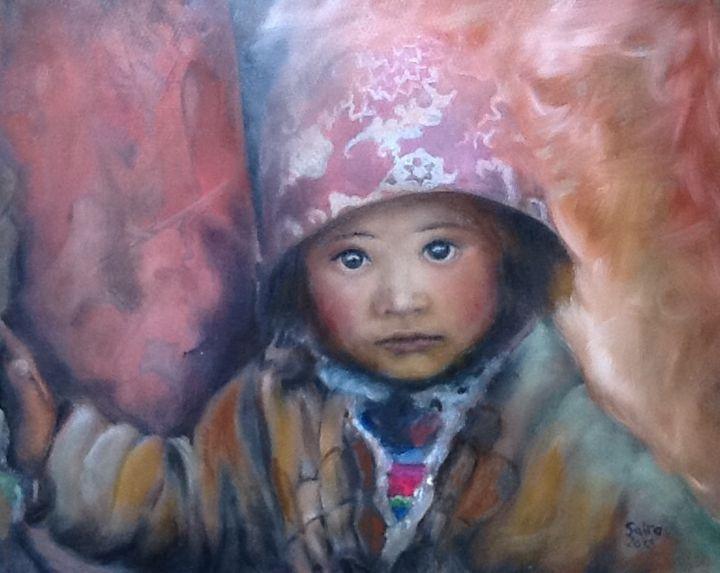 Rural Tibetan Girl - Saira Zhang