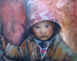 Rural Tibetan Girl