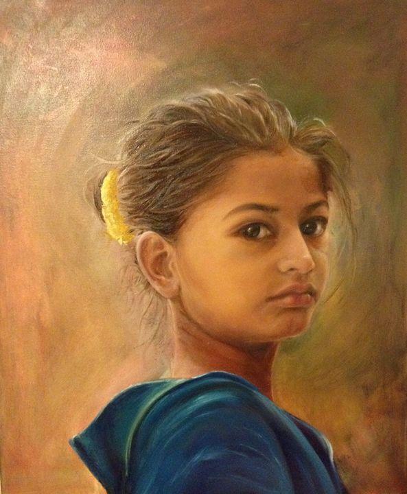 Pakistani Girl - Saira Zhang