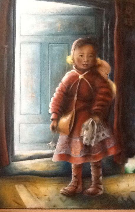 Girl in a Yurt - Saira Zhang