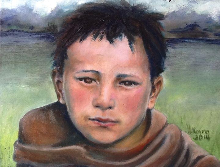 Mongolian Boy - Saira Zhang