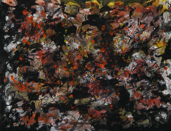 Abstract 006 - Kesslerwatercolors