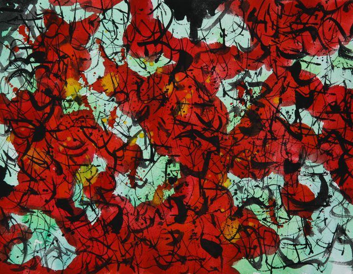 Abstract 008 - Kesslerwatercolors