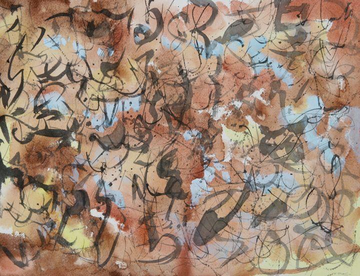 Abstract 011 - Kesslerwatercolors