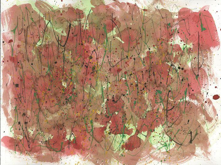 Abstract 067 - Kesslerwatercolors