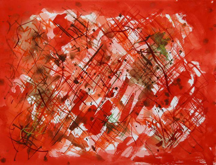 Abstract 023 - Kesslerwatercolors