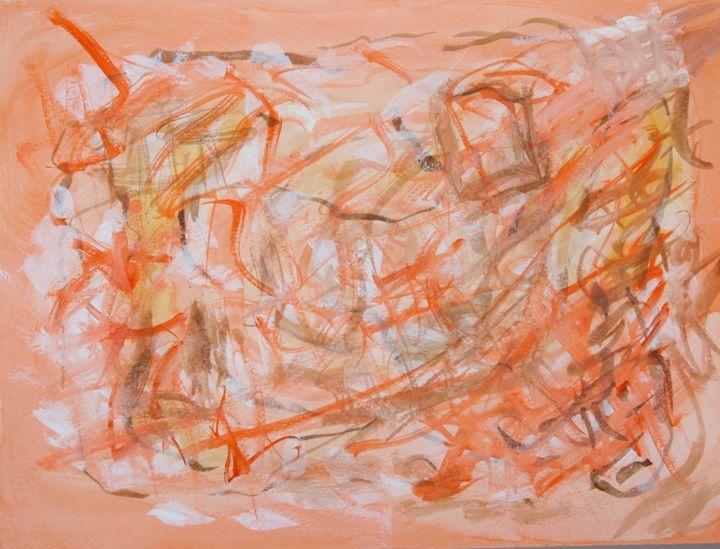 Abstract 025 - Kesslerwatercolors