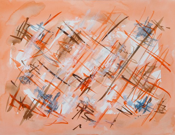 Abstract 029 - Kesslerwatercolors