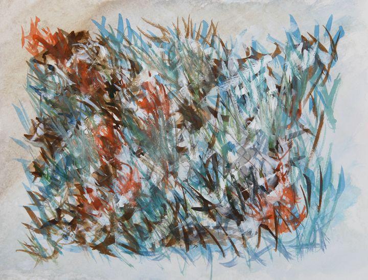Abstract 031 - Kesslerwatercolors