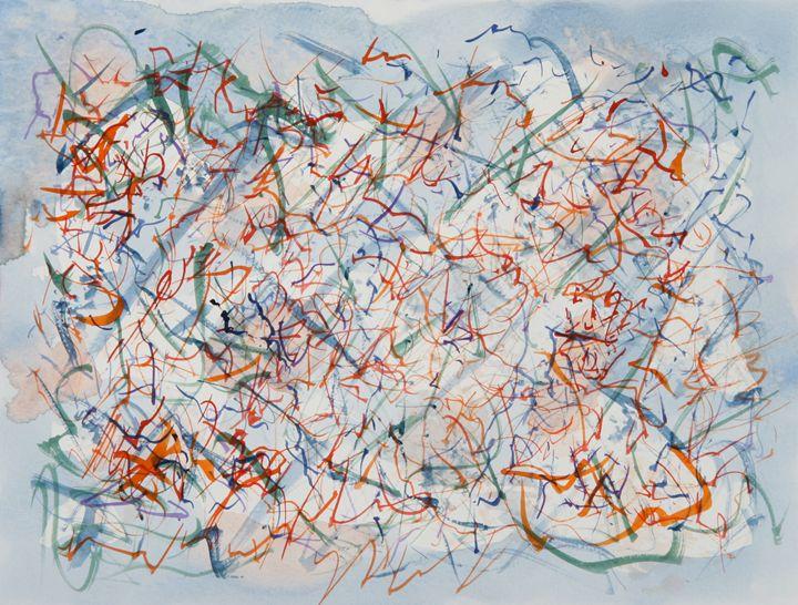 Abstract 035 - Kesslerwatercolors