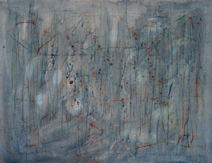 Abstract 036 - Kesslerwatercolors