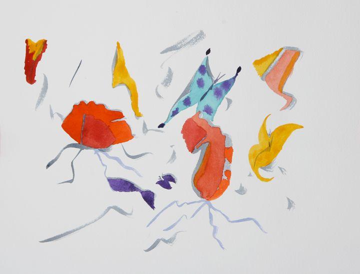 Abstract 038 - Kesslerwatercolors