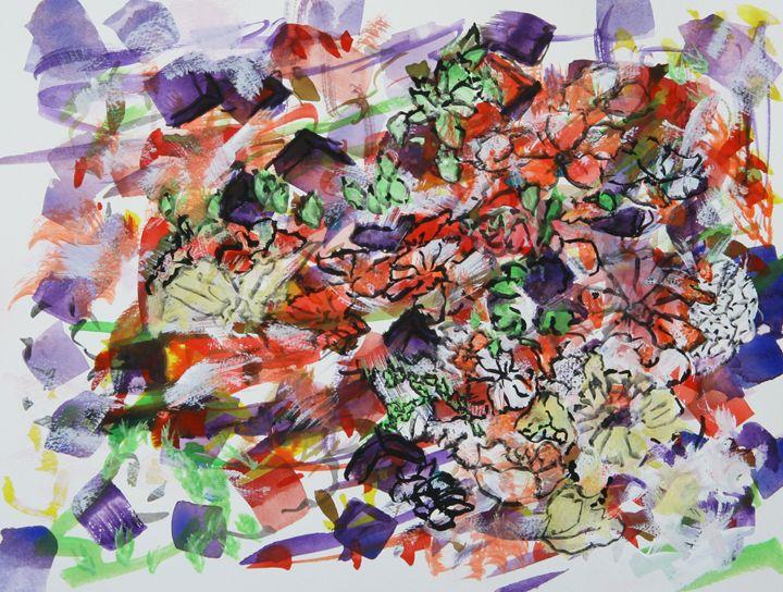 Abstract 040 - Kesslerwatercolors