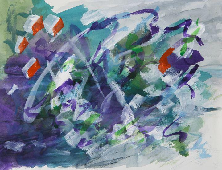 Abstract 041 - Kesslerwatercolors